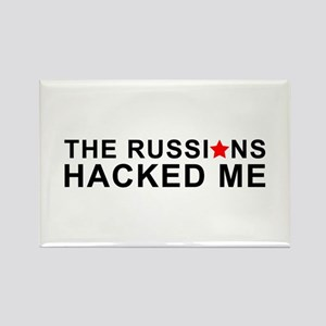 the russians hacked me Magnets