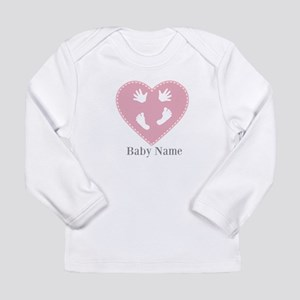 Add Baby's Name Long Sleeve Infant T-Shirt