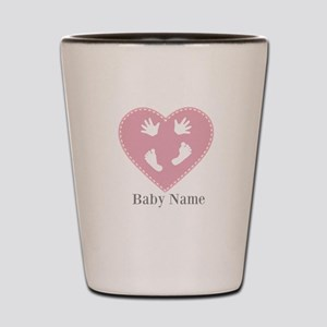 Add Baby's Name Shot Glass