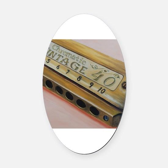 Unique Instrument Oval Car Magnet