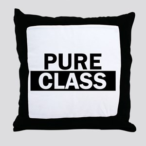 Pure Class Bold Throw Pillow