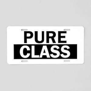 Pure Class Bold Aluminum License Plate
