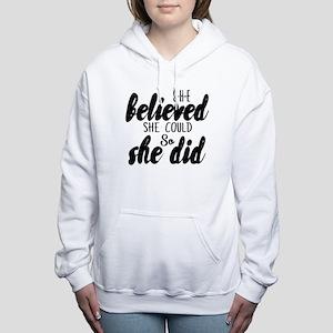 She believed Sweatshirt