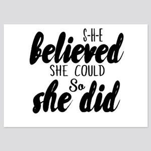 She believed Invitations
