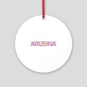 Arizona Round Ornament