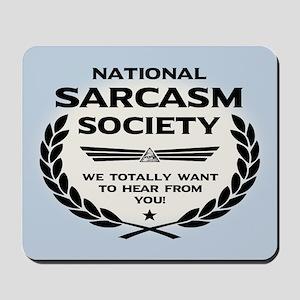 Nat' Sarc' Soc' -Hear Mousepad