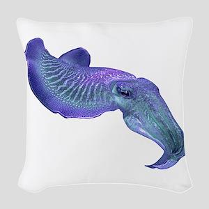 CUTTLEFISH Woven Throw Pillow