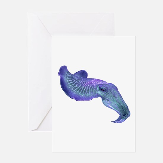 CUTTLEFISH Greeting Cards