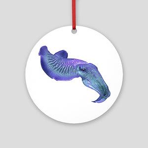 CUTTLEFISH Round Ornament