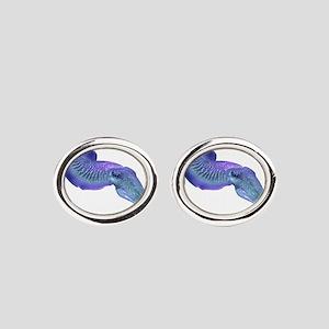 CUTTLEFISH Oval Cufflinks