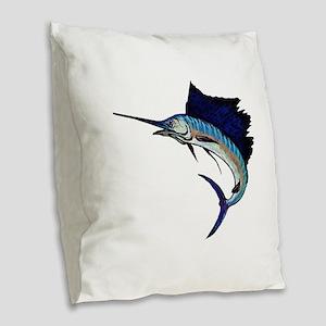 SAIL Burlap Throw Pillow