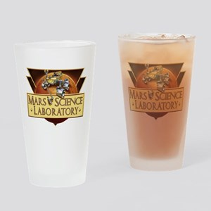 Launch Team Logo Drinking Glass