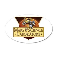 Mars Science Lab Wall Decal