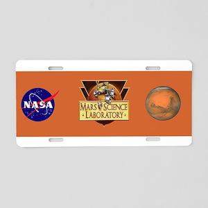 Launch Team Logo Aluminum License Plate