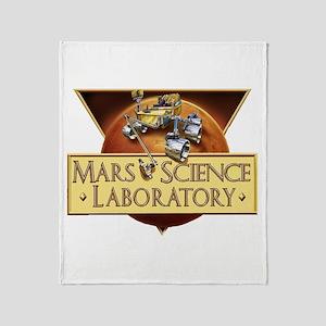 Mars Science Lab Throw Blanket