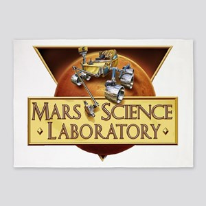 Mars Science Lab 5'x7'Area Rug