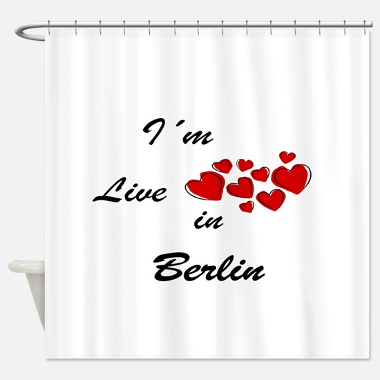 Berlin Shower Curtain