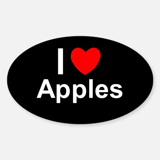 Apples Sticker (Oval)