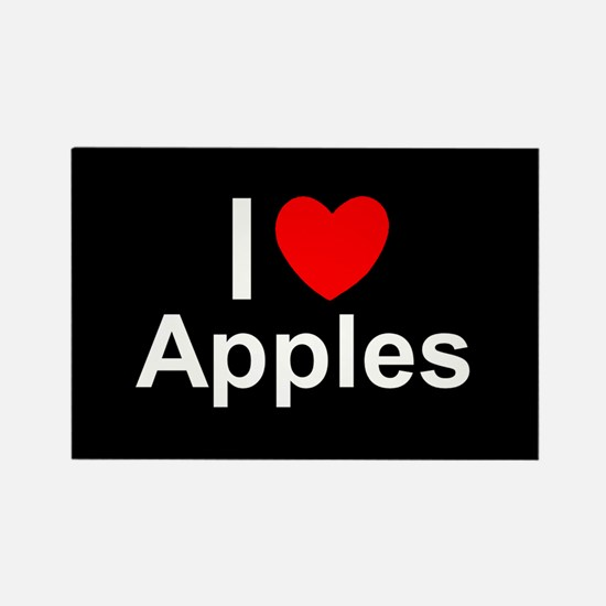 Apples Rectangle Magnet