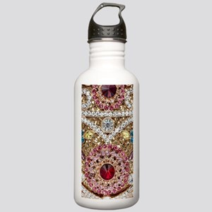 bohemian turquoise red Stainless Water Bottle 1.0L