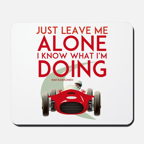 Formula 1 Quote Mousepad