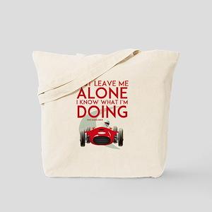 Formula 1 Quote Tote Bag
