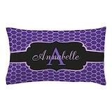 Personalized purple Bedroom Décor