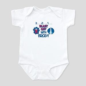 Blast Off with Brody Infant Bodysuit