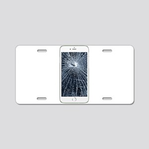 SlimCase_CrackedIphone6 Aluminum License Plate