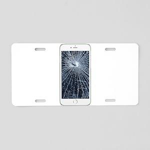 SlimCase_CrackedIphone6 Aluminum License Plate