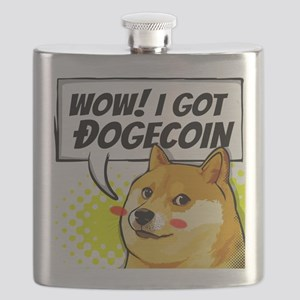 WOW I Got Dogecoin Flask