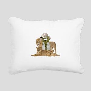 Safari Pickle Rectangular Canvas Pillow