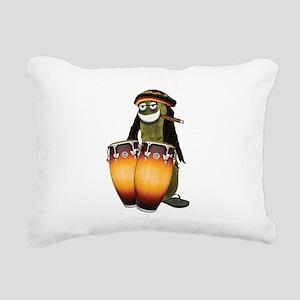 Reggae Pickle Rectangular Canvas Pillow