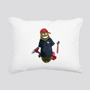 Mechanic Pickle Rectangular Canvas Pillow