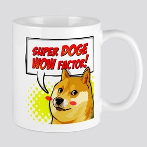 Doge Super Doge Meme WOW Mugs