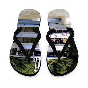 26188ebe34ce Water Transport Flip Flops - CafePress