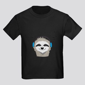 Sloth with headphones T-Shirt