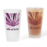 Dancing with the Stars Drinking Glass