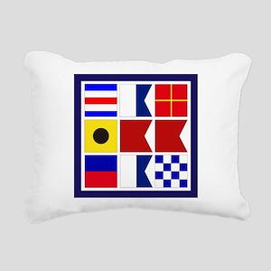 Caribbean Rectangular Canvas Pillow