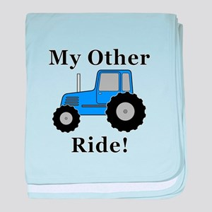 Tractor Other Ride baby blanket