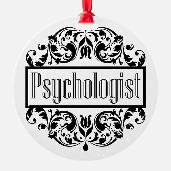 Psychologist Damask Ornament