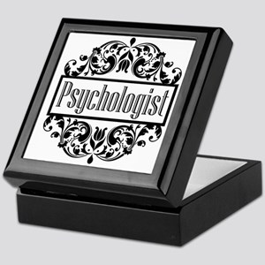 Psychologist Damask Keepsake Box