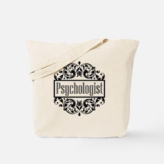 Psychologist damask Tote Bag