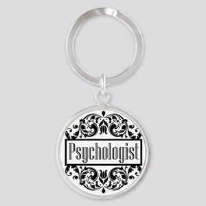 Psychologist Damask Keychains