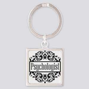Psychologist Damask Keychains