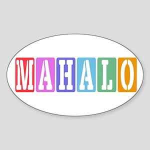 Mahalo Sticker
