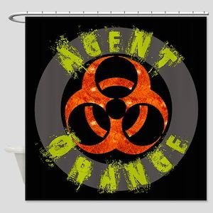 Agent Orange Shower Curtain
