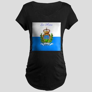 San Marino Maternity T-Shirt