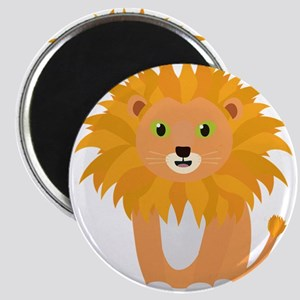 Lion with green eyes Magnets