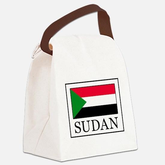 Sudan Canvas Lunch Bag
